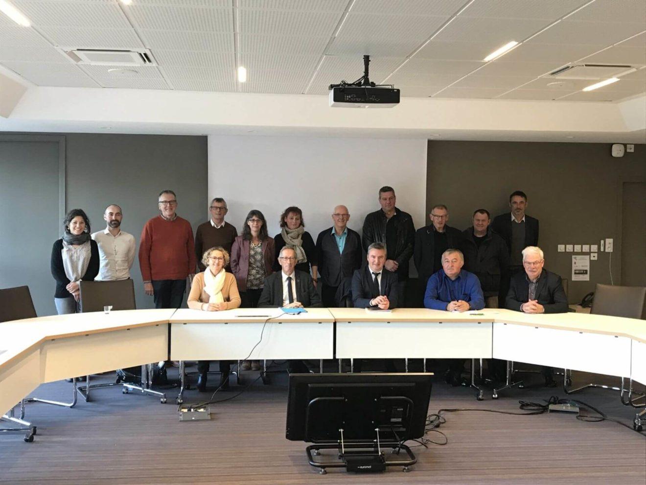 Première réunion à la CCPA