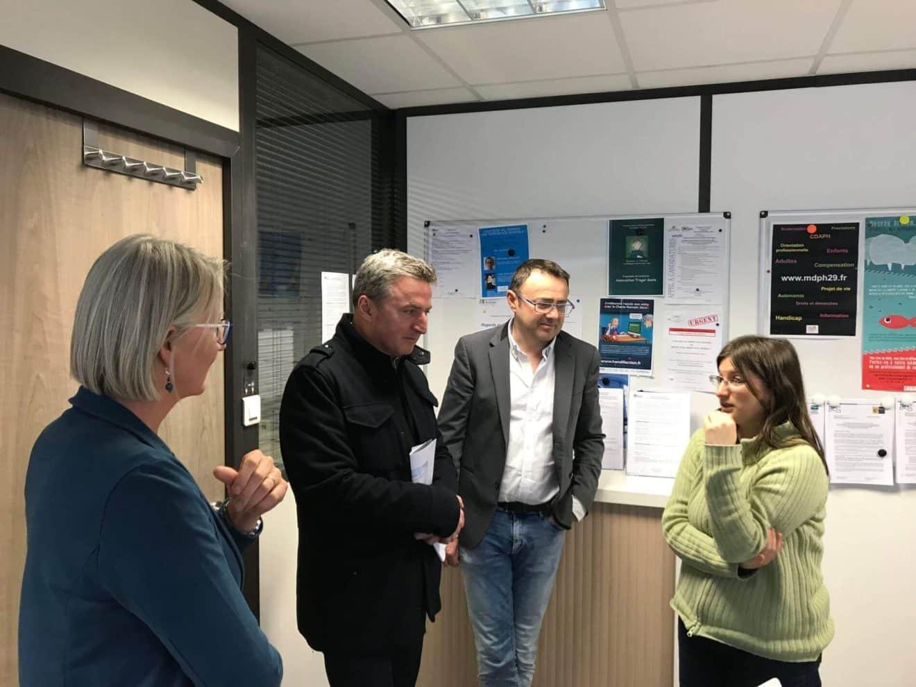 Autisme: Visitedu centre breton