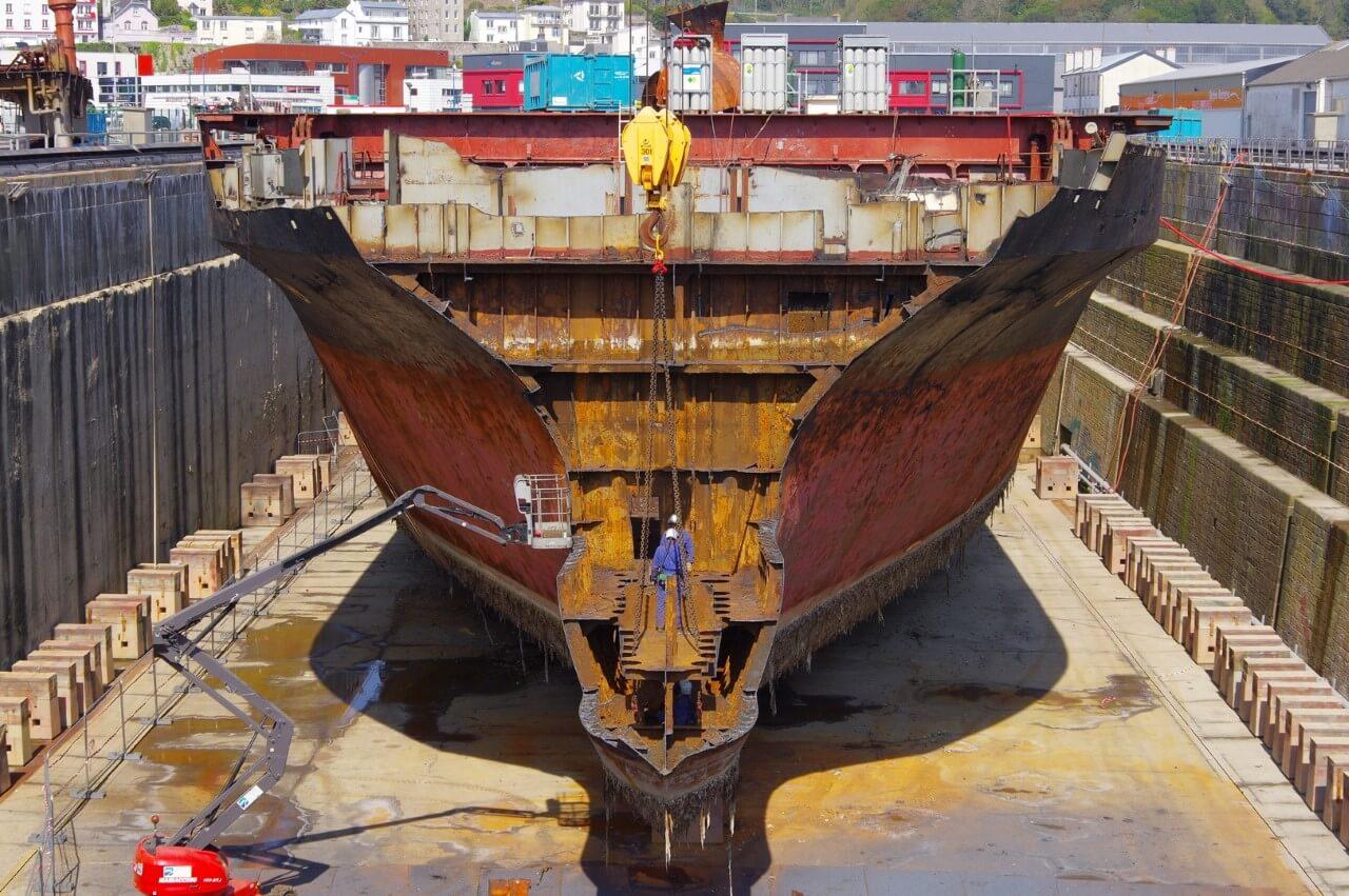 Déconstruction des navires - Ma question à la Secrétaire d'Etat auprès du Ministre de l'Economie et des Finances