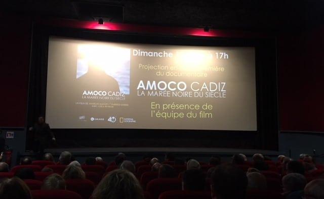 Salle comble au cinéma Le Bretagne à Saint-Renan pour l'avant première de