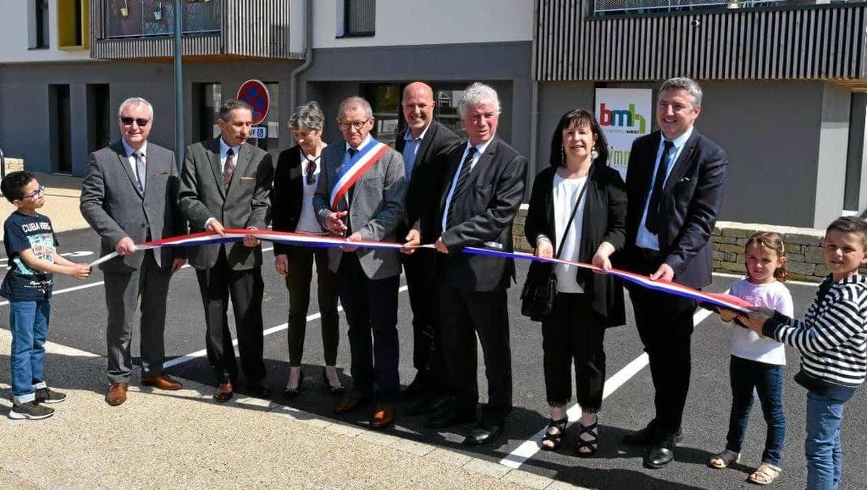 La résidence Coeur de Bourg a été inaugurée © Ouest-France