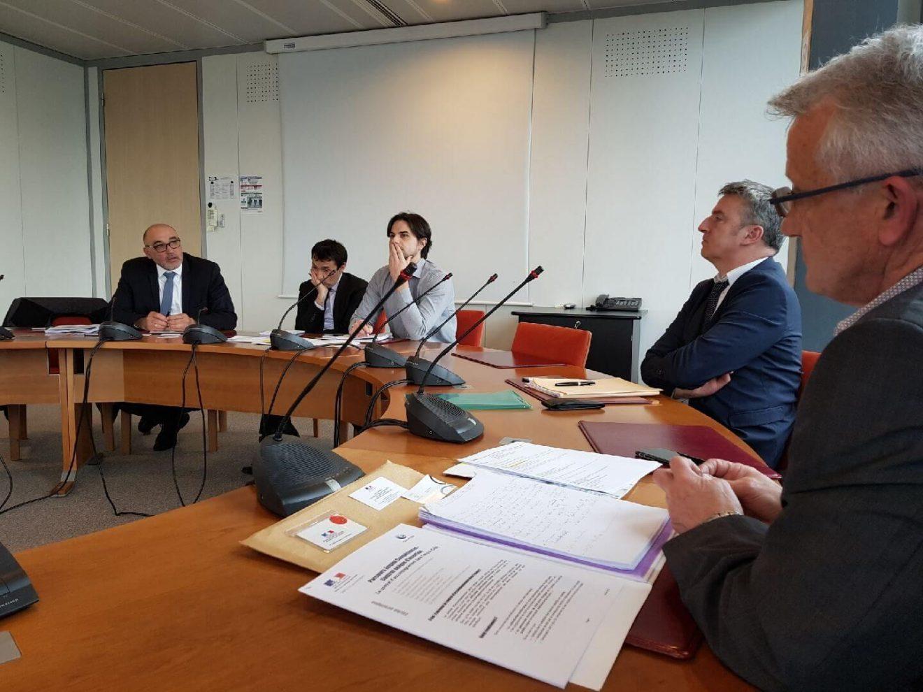 Sport : Entretien au cabinet de la Ministre avec le CDOS du Finistère