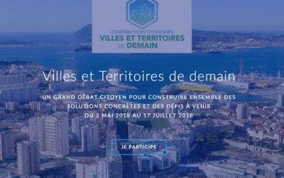 La consultation «Villes et territoires de demain»