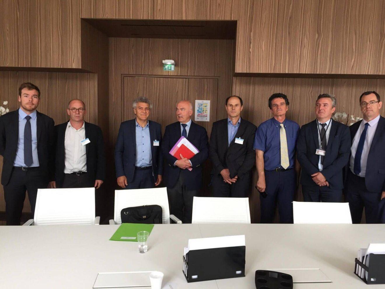 Rencontre avec le Medef Bretagne sur l'Ecotaxe