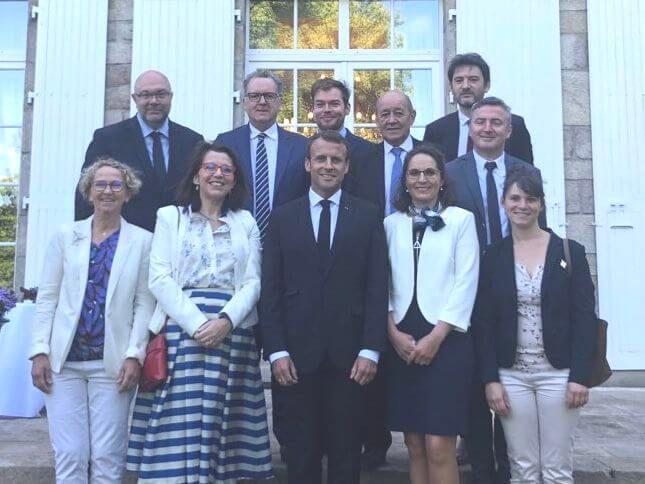 Retour sur la venue du Président Macron