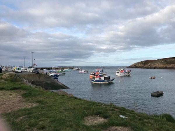 Bateaux de pêche au Conquet