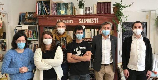 Didier Le Gac rencontre Sapristi à Brest